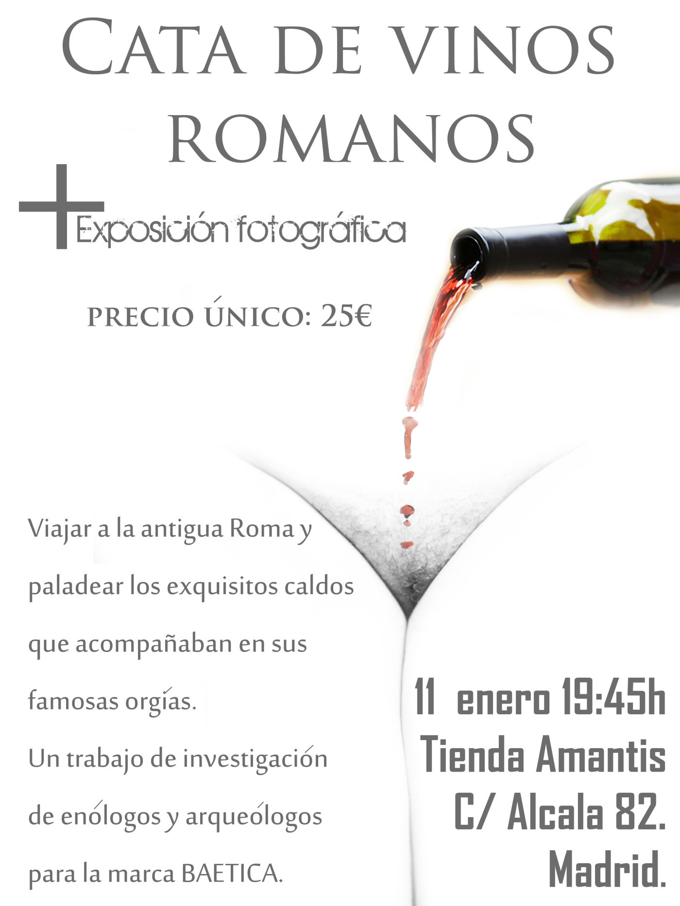 cata de vinos romanos