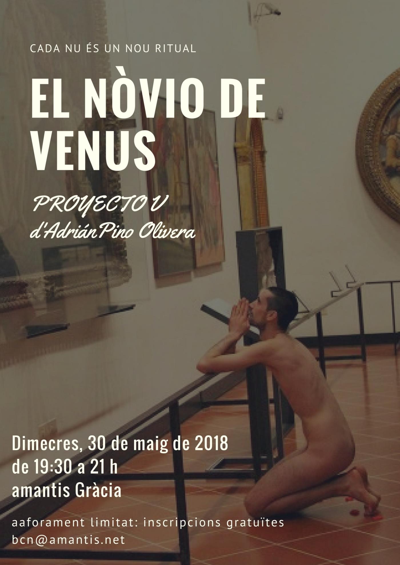 Flyer Performance El Novio de Venus