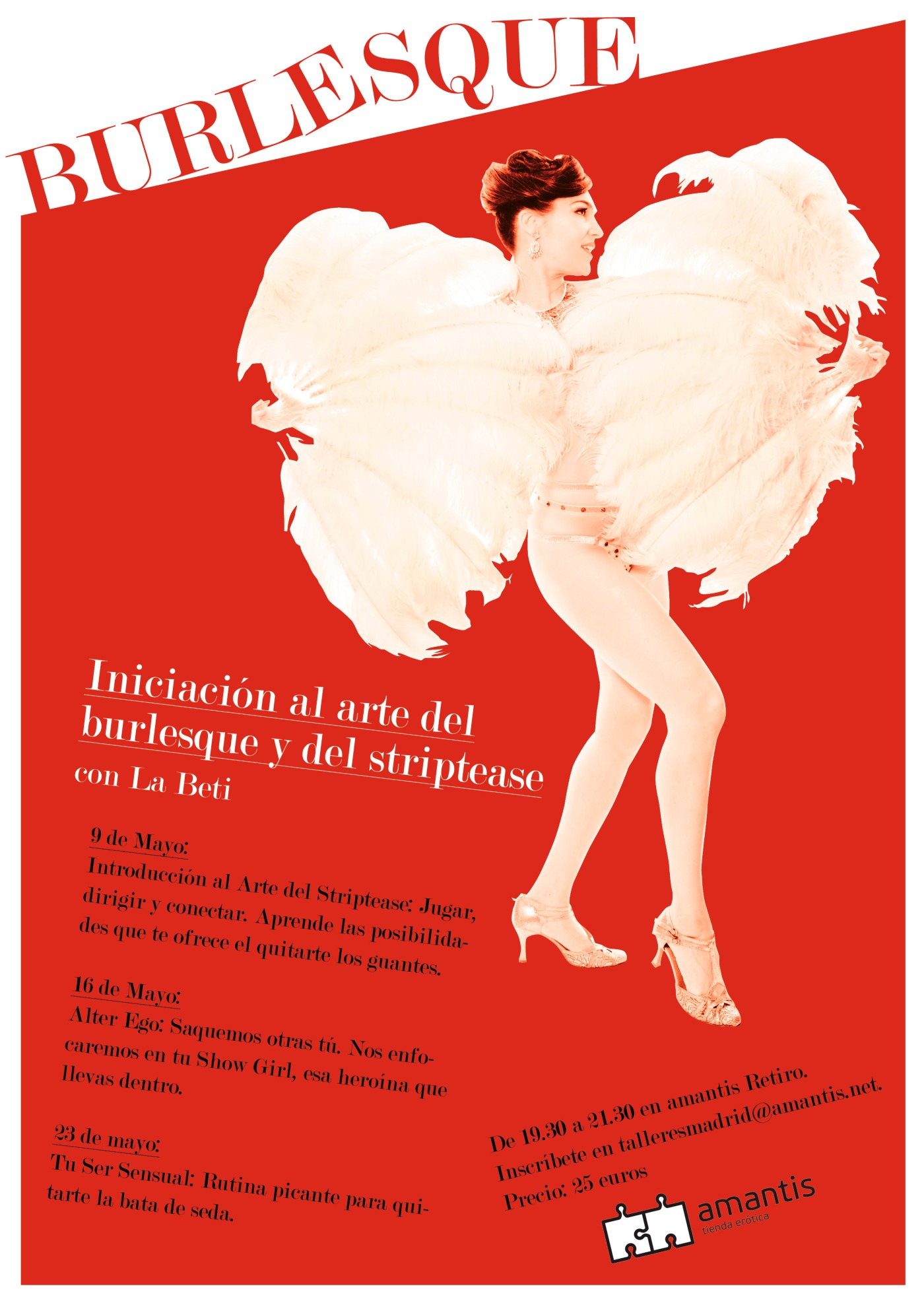 Burlesque y striptease