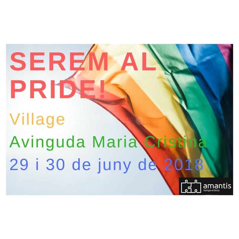 amantis estara en el Pride Barcelona