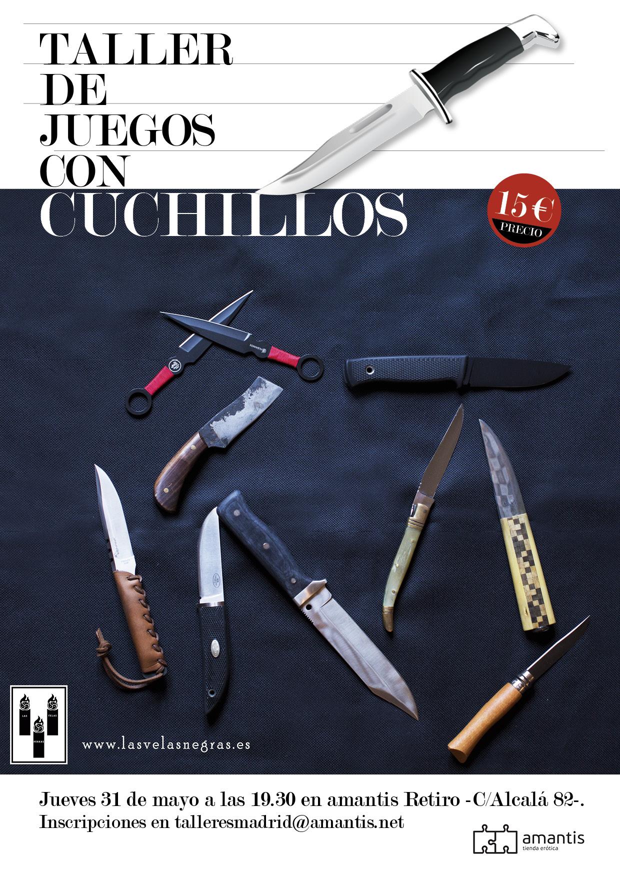 Taller de juegos con cuchillos BDSM