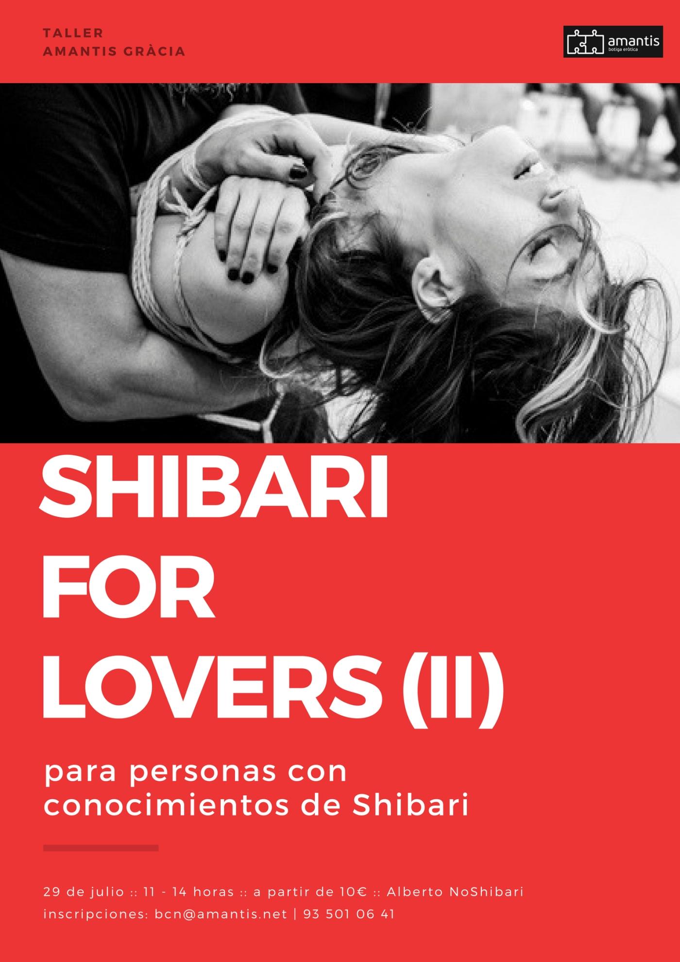 Taller Shibari avanzado