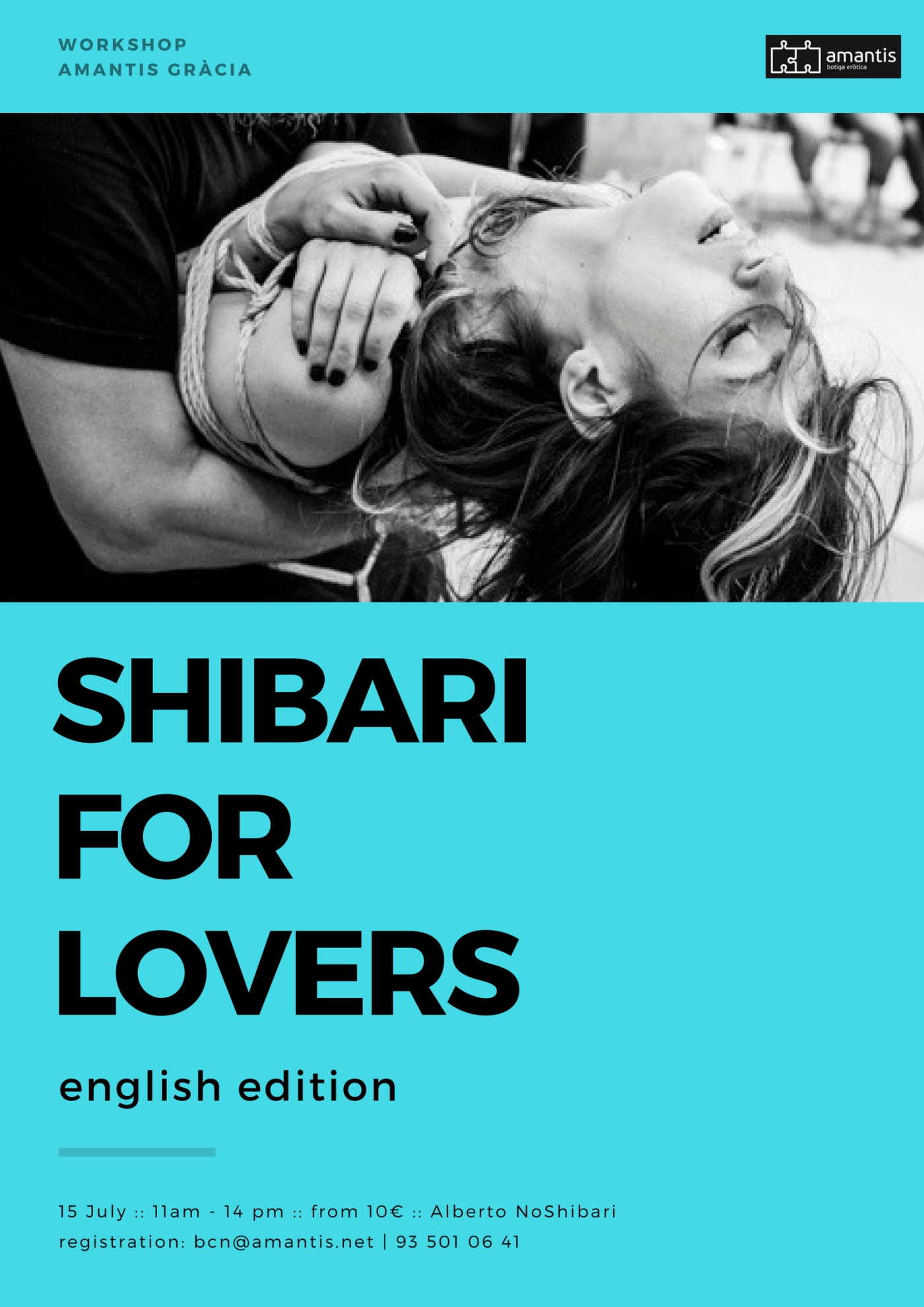 Cartel Shibari For Lovers. English Edition.