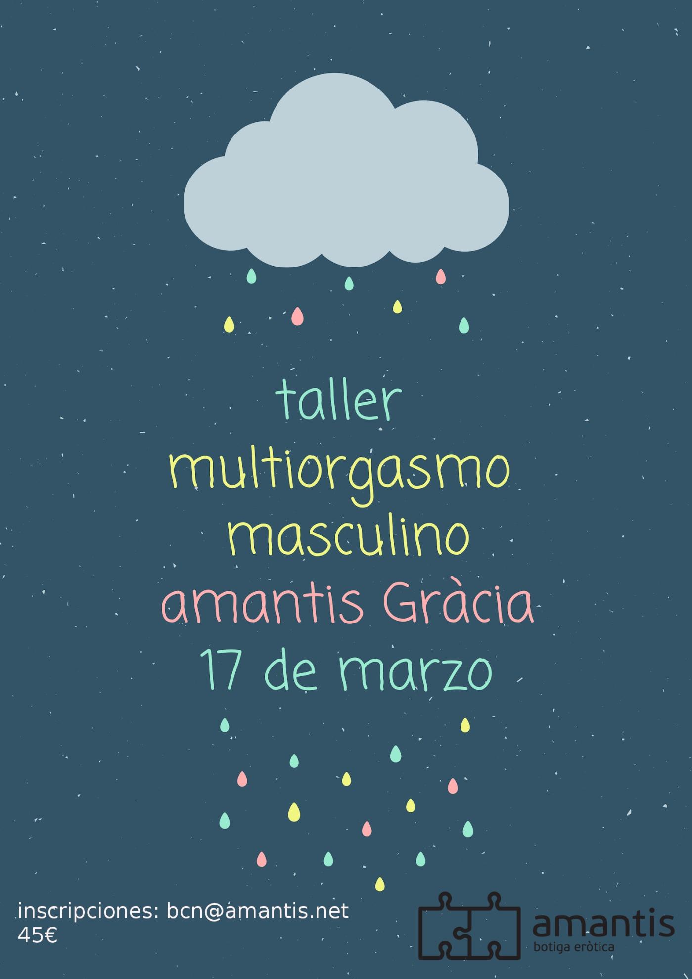 Taller Multirorfasmo Masculino