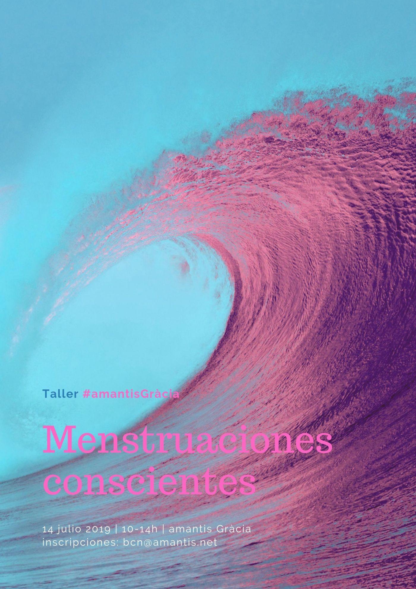 Flyer Taller Menstruación Consciente